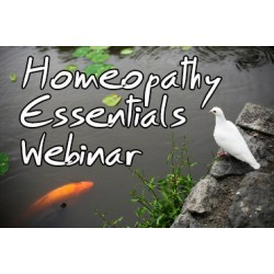 Homeopathy Essentials Webinar