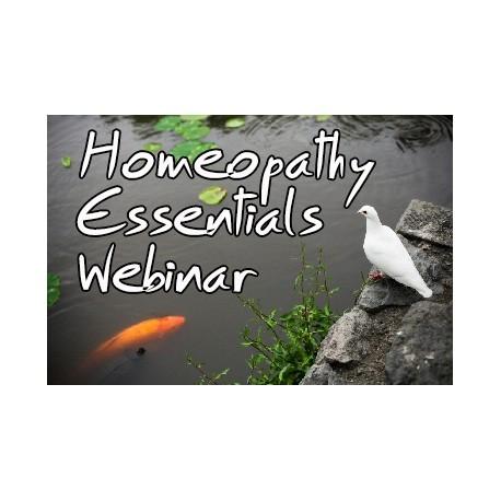 Homeopathy Essentials Webinar